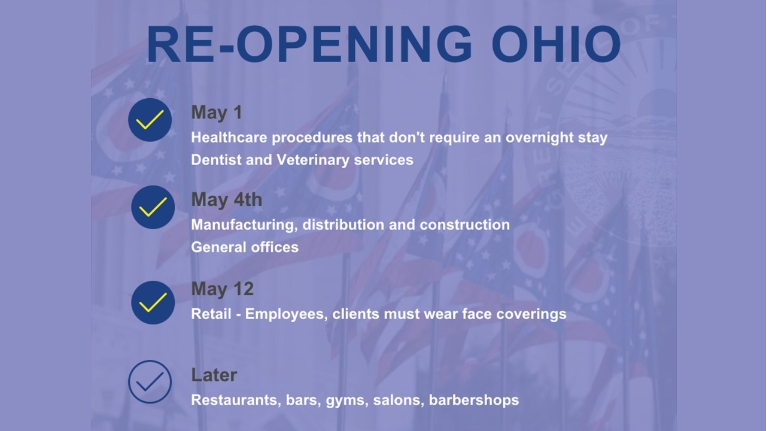 DeWine Extends Ohio Stay-At-Home Order