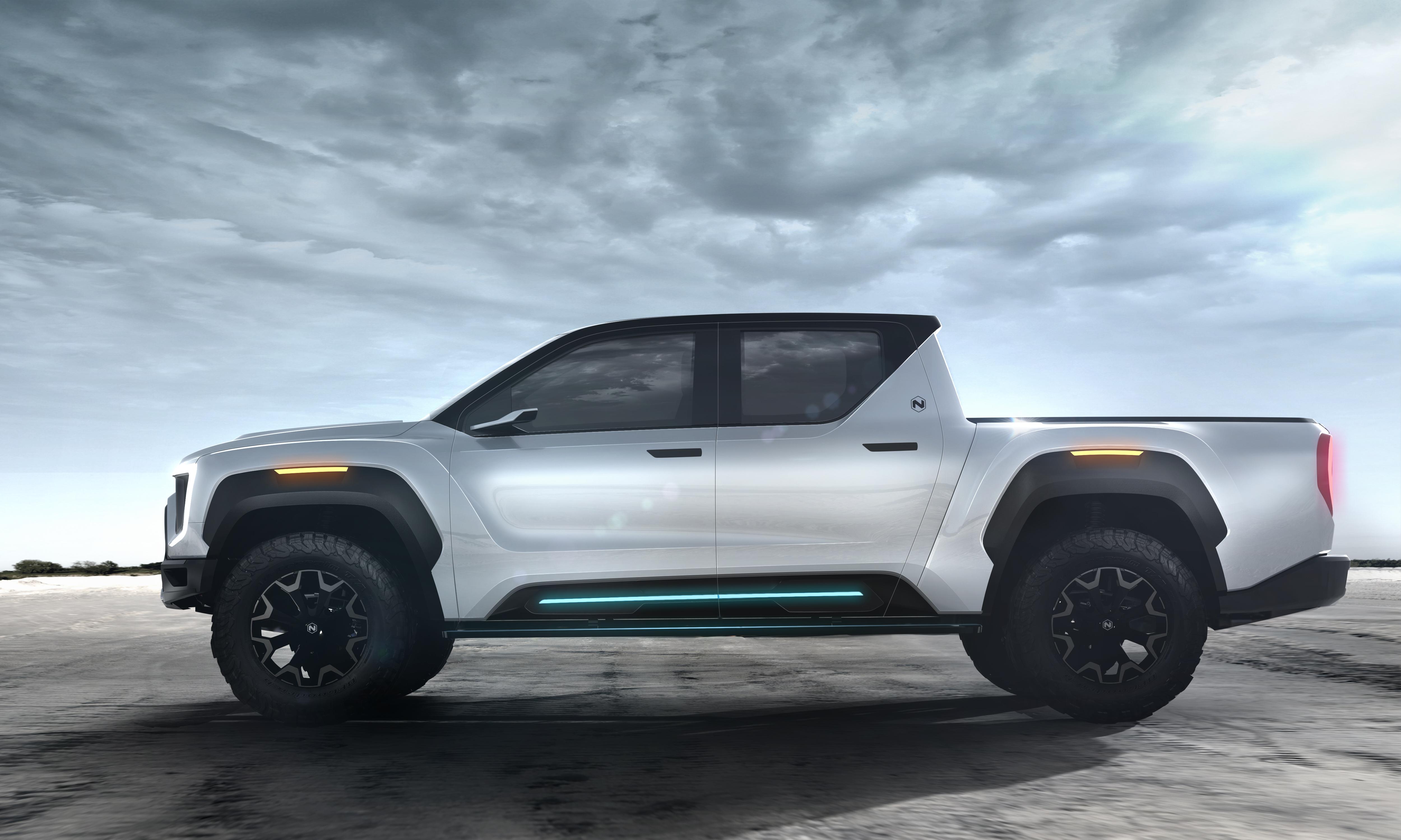 Electric Pickup Truck Battle Begins: Rivian v Nikola v Tesla