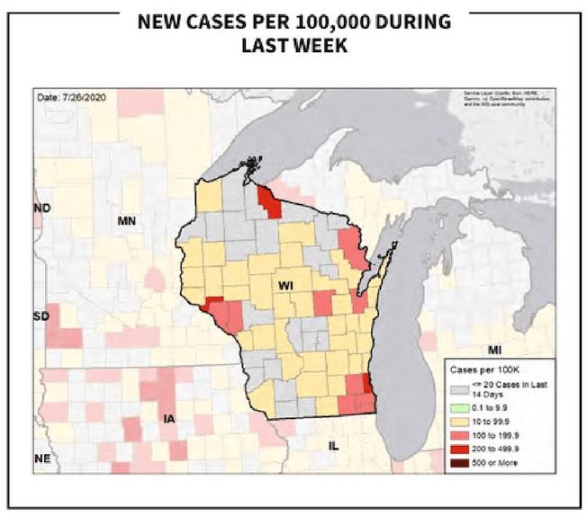 Wisconsin Deemed Hotspot By Federal Task Force