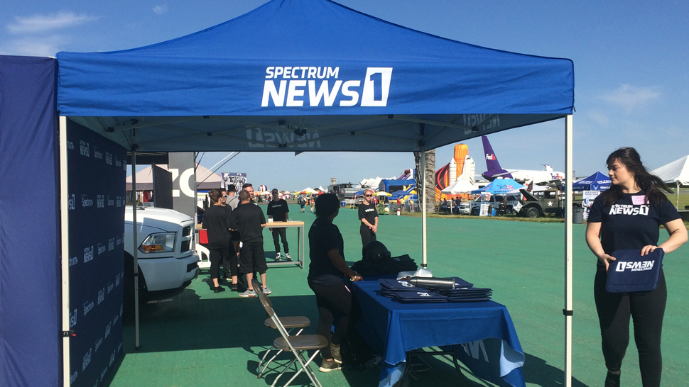 Spectrum News 1 at the Dayton Air Show